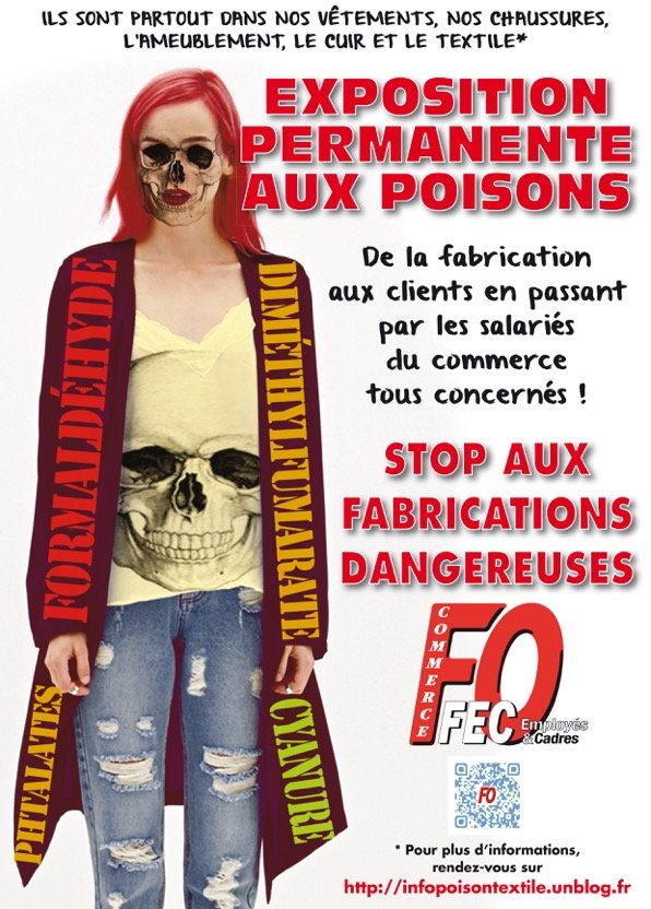 Affiche fringues assassines
